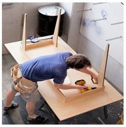 Сборка столов по низким ценам в Перми от специалистов
