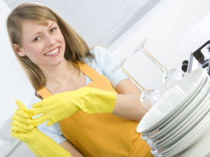 Мойка посуды на дому в Перми