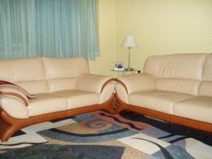 Перетяжка кожаной мебели в Перми